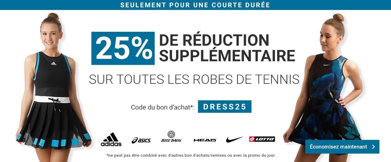 Robes de Tennis -25%