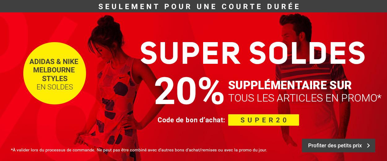 Super Soldes -20%