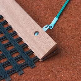 Ersatz-Schleppnetz-Balken, Holz