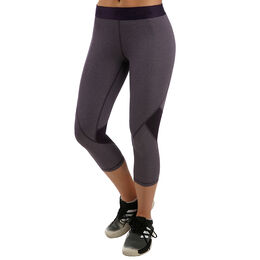 AlphaSkin 3/4 Heather Sport Tight Women