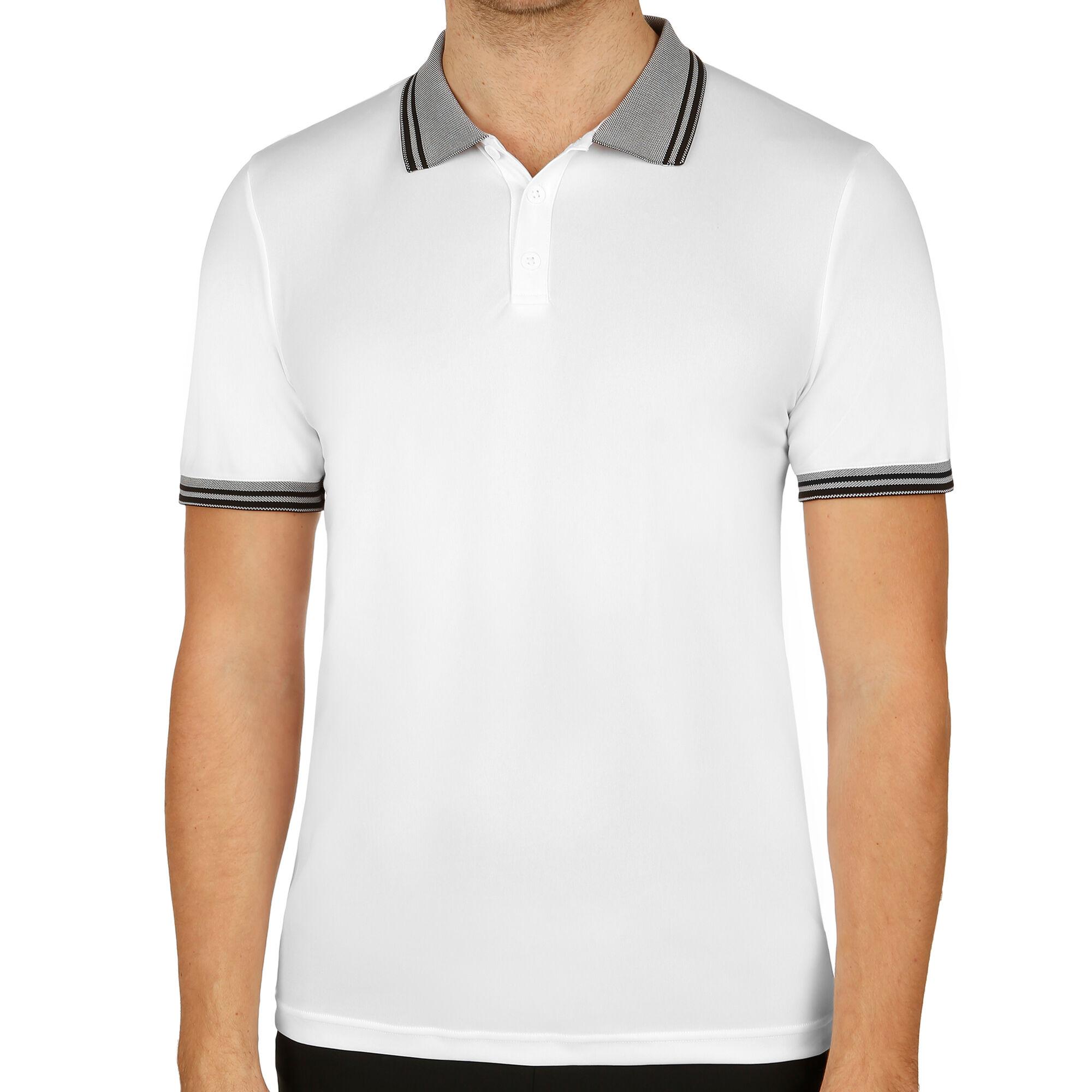 6233e0bbc1 Wilson Team Polo Hommes - Blanc , Gris online kopen | Tennis-Point