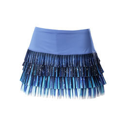 Celestial Geo Pleated Skirt Women