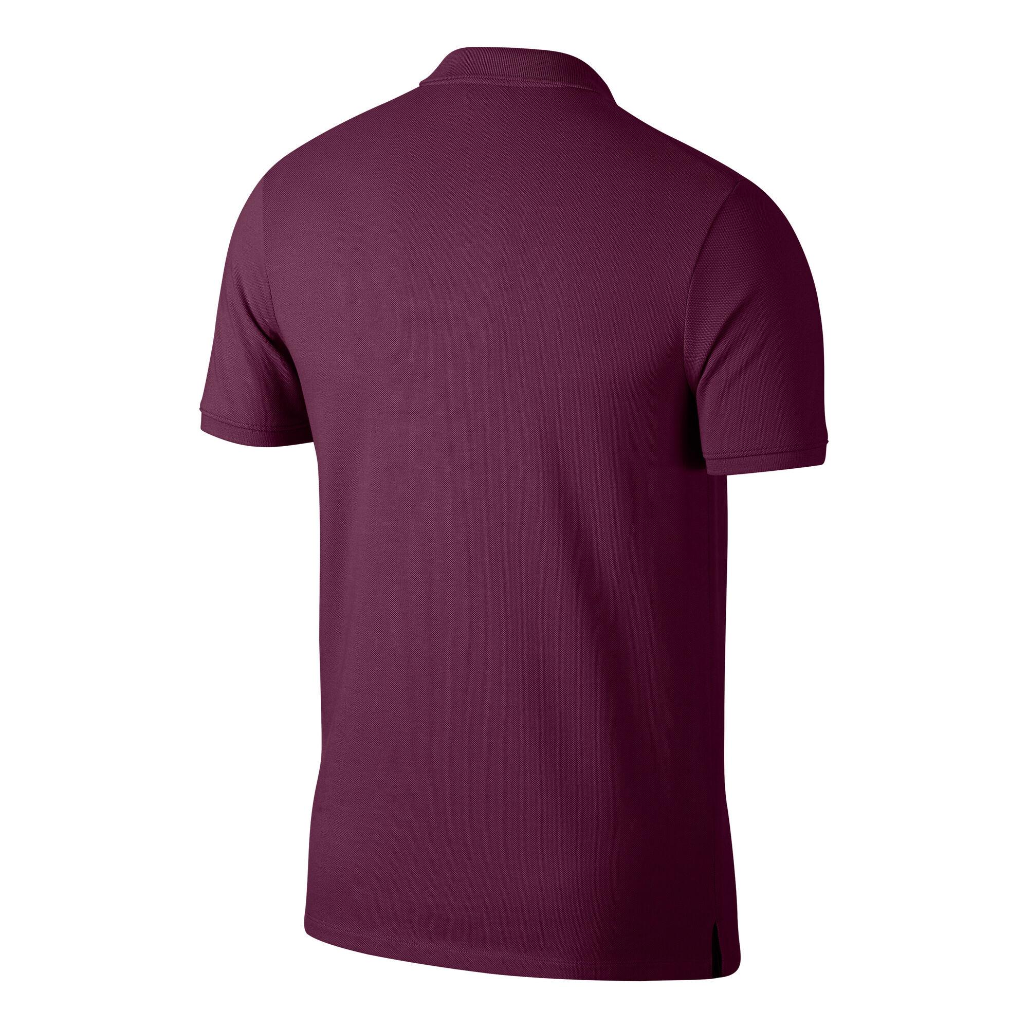 e365fc2494 Nike Court Polo Hommes - Rouge Foncé , Blanc online kopen | Tennis-Point