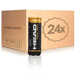 HEAD Padel Pro S 3er Dose 24 Dosen im Umkarton