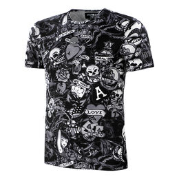 Printed Tech Tee Men