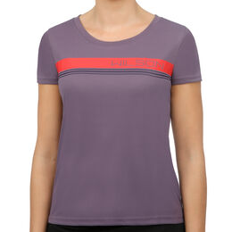 Varsity Striped Tech Tee Women