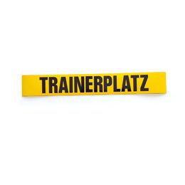 Magnetschilder bedruckt 60 mm breit, Trainerplatz