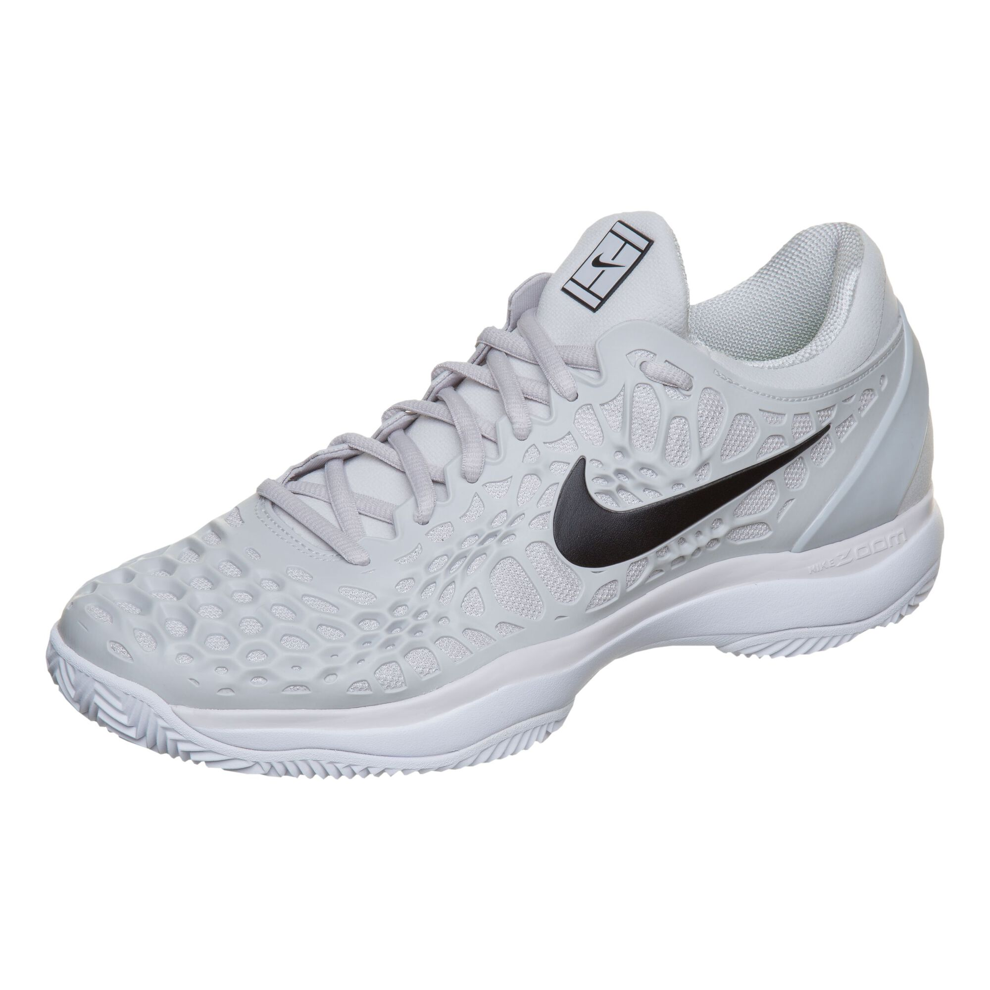 reputable site eb509 bbdbe Nike Zoom Cage 3 Clay Chaussure Terre Battue Hommes - Gris Clair ...