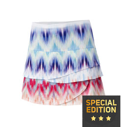 Long Illusion Scallop Skirt