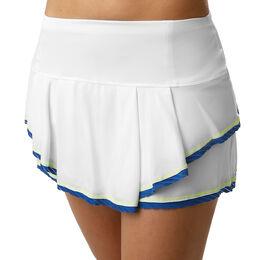 Multilayer Shadow Border Stripe Skirt Women