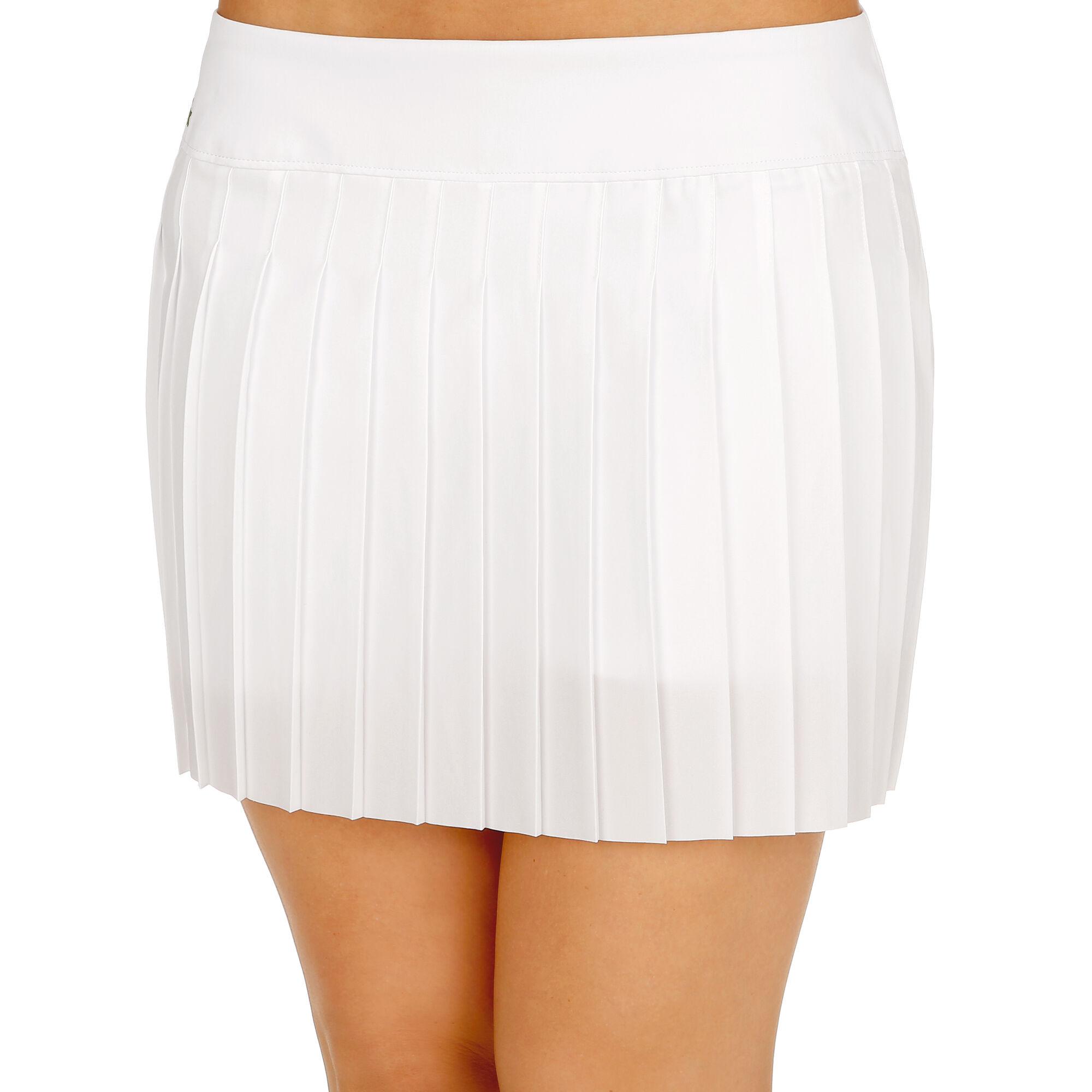 0a26b9fa09 Lacoste Seasonal I Jupe Femmes - Blanc online kopen | Tennis-Point